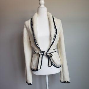 WHBM Knit Flyaway Cardigan
